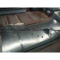 Buy cheap Custom Cutting Galvanized Steel Sheet / Gl Sheets 24 Gauge for Roofing from wholesalers