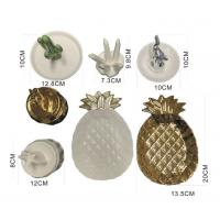 Buy cheap Cactus, iceberg, elephant, unicorn sculptures Ceramic jewelry plates, cermaic ring holders display from wholesalers