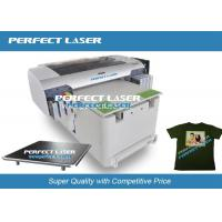 Buy cheap Full Color Industrial Inkjet Printer , T - Shirt Digital Printing Machine 420mmX800mm from wholesalers