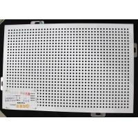 Buy cheap 300 x 300 Metal Perforated Ceiling Acoustic Suspended Ceiling Tiles Plate With roll coating from wholesalers