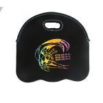 low price 6 pack durable printed 4.5mm neoprene wine bottle cooler sleeve carry bag