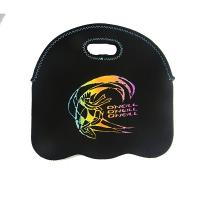 Buy cheap low price 6 pack durable printed 4.5mm neoprene wine bottle cooler sleeve carry bag from wholesalers