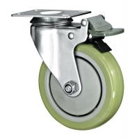 Buy cheap Double Locking Brakes Decorative Furniture Casters , Small Swivel Caster Wheels from wholesalers