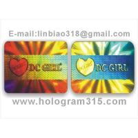 Buy cheap Holograms label from wholesalers