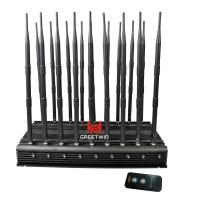Buy cheap GW-JA18 Mobile Phone Signal Jammer 18 Antennas 2g 3G 4G WiFi 2.4G Full Bands 130MHz-6GHz from wholesalers