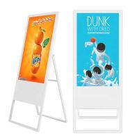 Buy cheap Portable Floor Standing Digital Signage 43 Inch With Android OS Digital Menu Board from wholesalers