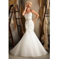 Buy cheap China Wedding Dress / 2014 Mermaid Organza Embroidery Wedding Bridal Dress from wholesalers