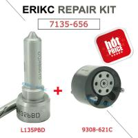 Buy cheap ERIKC delphi Injector Overhaul Repair Kit 7135-656 including nozzle L135PRD and valve 9308-621C for EJBR00504Z from wholesalers