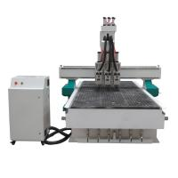 Buy cheap 3 Spindles Auto Tool Changer ATC Furniture Wood Relief CNC Machine from wholesalers