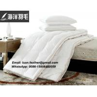 Buy cheap King Feather Bed Mattress Pad Bed Topper Goose Down Pillow Sheet Bedroom Comfort from wholesalers