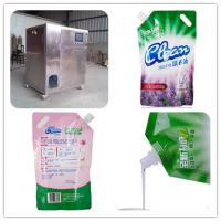 Buy cheap Laundry detergent stand up pouch/spouted bag/doypack tube filling sealing capping machine from wholesalers