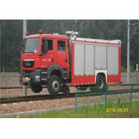 Buy cheap 2 Seats Fire Fighting Truck product
