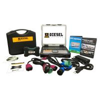 Buy cheap Universal Diesel Truck Diagnostic Laptop Tool Scanner Complete Kit with Laptop from wholesalers