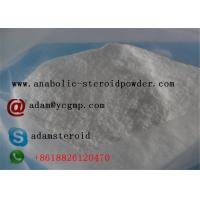 China Topical Pain Reliever White Crystal Benzocaine Powder , Local Anesthetic Agent on sale