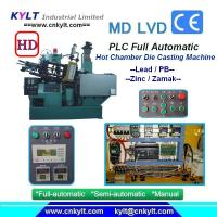 KYLT Die Casting Hot Chamber Injection Machine (PDF parameters)