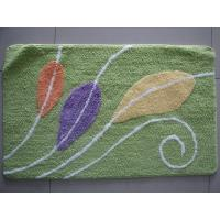 Buy cheap Hotel Entrance Green Carpet Door Mat , Non-Slip Rug With Latex Back from wholesalers