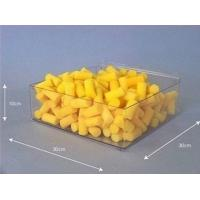 Buy cheap Colored / Transparent Acrylic Countertop Display Case Customized for Candy product