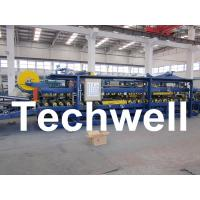 Buy cheap Rubber Belt Continuous Sandwich Panel Machine for Insulated Roof Wall Sandwich Panels from wholesalers