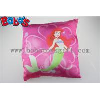 Buy cheap High Quanlity Pillow Case Soft Baby Cushion with Printting Little Mermaid Girl from wholesalers