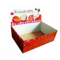 Buy cheap Light Duty Countertop Candy Display Box With Coating Paper, Glossy Lamination from wholesalers