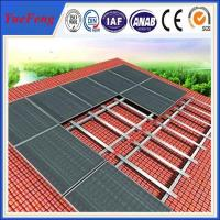 Buy cheap Roof standard solar mount,Aluminium Alloy Solar Roof Mounting from wholesalers