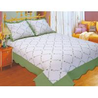 Buy cheap Plain Color Floral Bedding Sets Silky Soft Touch For Home And Hotel from wholesalers