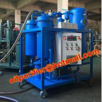 Buy cheap Lubrication Oil Dehydrating Special Vacuum filtration plant Purifier Turbine Oil , Hydraulic Oil , Freezing Machine Oil from wholesalers