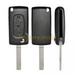Buy cheap PSA Va7T 3 Button Flip Key , Lock / Unlock Folding Remote Key Broken Proof from wholesalers