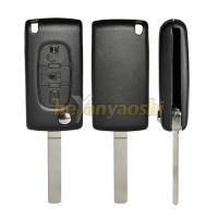 Buy cheap PSA Va7T 3 Button Flip Key , Lock / Unlock Folding Remote Key Broken Proof product