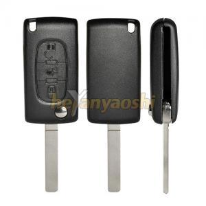 Buy cheap PSA Va7T 3 Button Flip Key , Lock / Unlock Folding Remote Key Broken Proof product