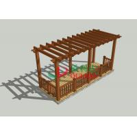 Buy cheap Veranda Home Depot Pergola 7m * 2.5m * 2.85m , Durable Free Standing Pergola Kits from wholesalers