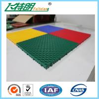 Buy cheap Easy Installation Interlocked Rubber Floor Tiles For Volleyball Court product