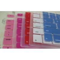 Buy cheap silicone Blue / Pink / White / Red Keyboard Protector Laptop / protective keyboard cover from wholesalers