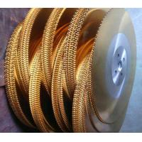 Buy cheap Cold cut Golden color TiN Titanium Nitride Dmo5/M2 HSS circular saw blade from Wholesalers