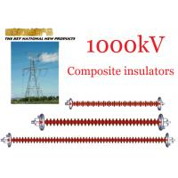 Buy cheap 1000kV AC Overhead Line Insulators , Suspension Type Composite Polymer Insulator product
