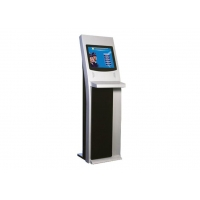 Buy cheap 19 Inch Durable Touch Screen Free Standing Kiosk with Kiosk Metal Keyboard from wholesalers