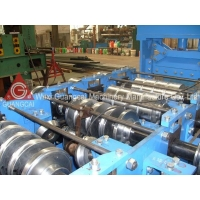 China GMC 380V 40Cr Metal Roof Panel 3 Rows Cold Roll Forming Machine on sale