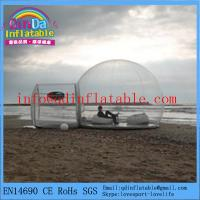 Buy cheap Factory quality inflatable bubble camping tent inflatable camping tent from wholesalers
