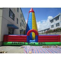 Buy cheap inflatable rock climbing wall for adults and children  CFC-007 from wholesalers