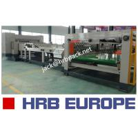 Buy cheap HRB-1800MM High Speed Single Facer Carton Box Packaging Machine 90KW Total Power from wholesalers