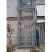 Buy cheap 10t Guide Rail Freight Elevator hydraulic cargo platform lift from wholesalers