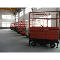 Buy cheap Easy Control Scissor Lift Aerial Work Platform For Workshops , Warehouse from wholesalers