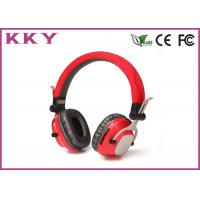 Buy cheap Cordless Stereo Headphones , Mobile Bluetooth Headset With Metal Shell / FM Radio from wholesalers