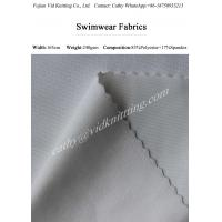 Buy cheap 83% Polyester 17% Spandex  Warp Knitted Swimwear Fabric Swimsuit Fabrics from wholesalers