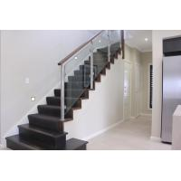 Buy cheap Customized Modern High Quality Stainless Steel Glass Railing for Stairs product