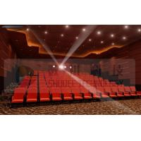 Buy cheap Upscale 4D Cinema System With Motion Chair And Cinema Special Effects product