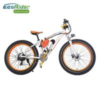 Buy cheap EcoRider Fat Tire 26 Inch Wheel Electric Bike Off Road Electric Bikes Mountaine Electric Bicycle from wholesalers