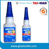 Buy cheap Loctite 401 super glue, cyanoacrylate adhesive 20g from wholesalers
