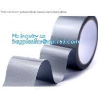 Buy cheap Carpet duct tape,Professional Grade Strong Repair Sealing Joining Plumbing Silver PVC Duct Tape 48MM X 30M bagplastics from wholesalers