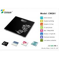 Buy cheap CW261A  High Precision 180kg bathroom scale bathroom scale max with Strain Gauge Sensors, from wholesalers